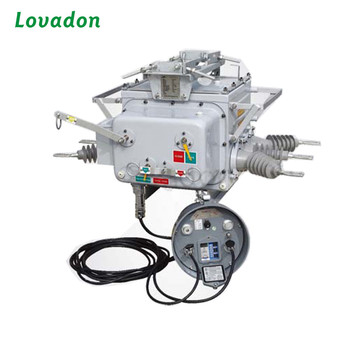 Factory sell Lovadon Zw20f-12 Series Outdoor Intelligent Vacuum Circuit Breaker