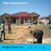 Low cost and high quality Fiber cement sandwich house