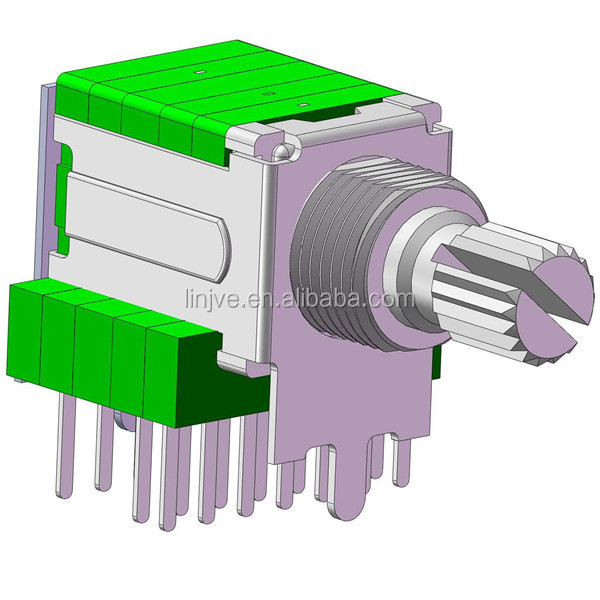 volume control selector 6 position rotary switch