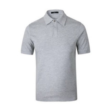 Custom With Embroidered Pima Cotton Sport Fashion Grey Polo Shirt(A843)