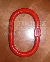 1509-Galvanized Red Color Painted G80 Oblong Master Link