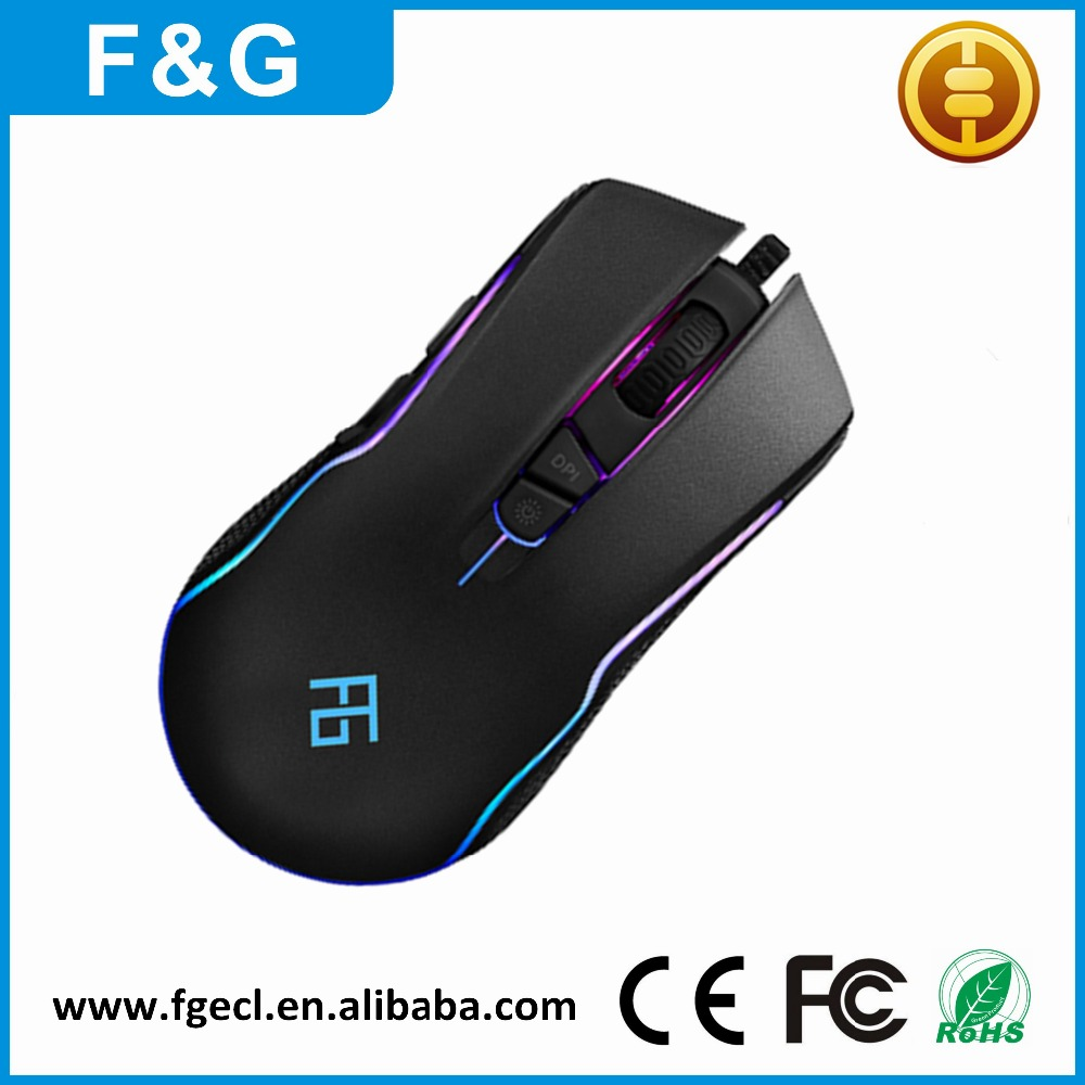 Alibaba Top10 Optical Usb 7D Computer Gamer Gaming Mouse with custom logo