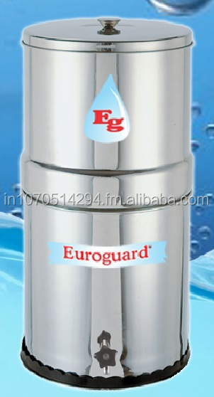 STAINLESS STEEL CERAMIC GRAVITY WATER FILTER
