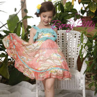kids garment girls pictures sexy / birthday dress for baby girl
