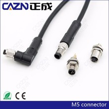 China leading manufacturer M5 M8 M9 M12 M16 M23 RD24 waterproof connector IP67 IP68