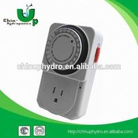 industrial mechanical timer/ indoor and outdoor thermometer/ 24 hours grow light mechanical switch timer