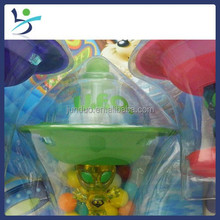 candy toy UFO gyro candy and sweets toy for kids child