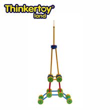 Thinkertoy Land Outdoor Child Games Toys Educational Equipment Eiffel Tower