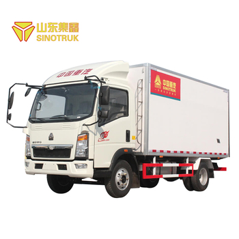 Good quality china brand sinotruk howo light refrigerator truck for sale