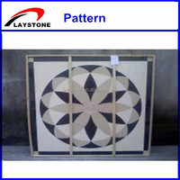 Modern square mosaic pattern table top