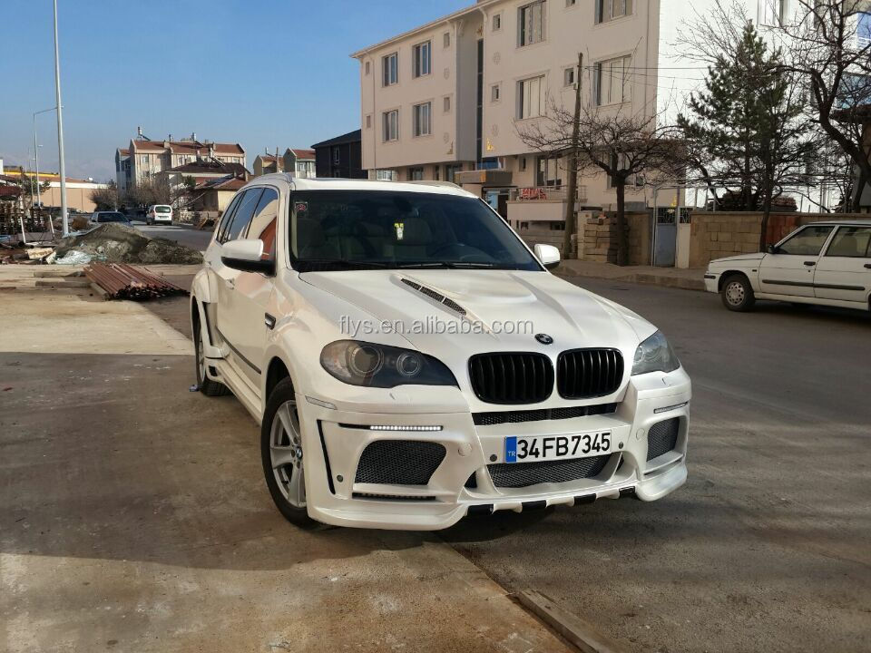 X5 E70 body kit. 2007 2008 2009 2010 2011 2012 2013 2014. Fiber glass HM design