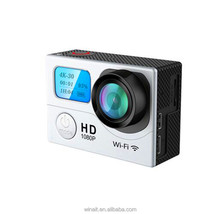 2016 Factory winaiG3 H9 Ultra HD 4K Video 170 degrees Wide Angle Sports action Cam 2-inch Screen 1080p 60fps wifi Action camera
