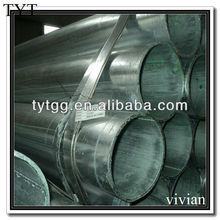 weld galvanized steel pipe dimensions