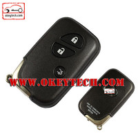 Okeytech Lexus Modified flip remote key shell Car Key Lexus 3 button Modified flip remote key fob