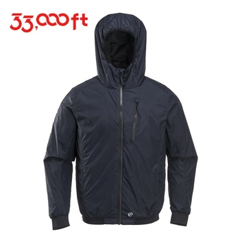 Clothing manufacturer custom printed windbreaker winter blank self-recovering windbreaker