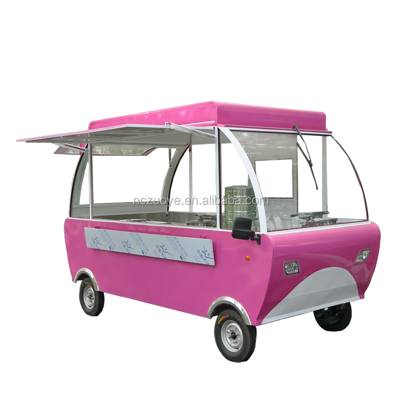Roman Holiday Edition Style Environmental Protected Food Cart for Multifunctions