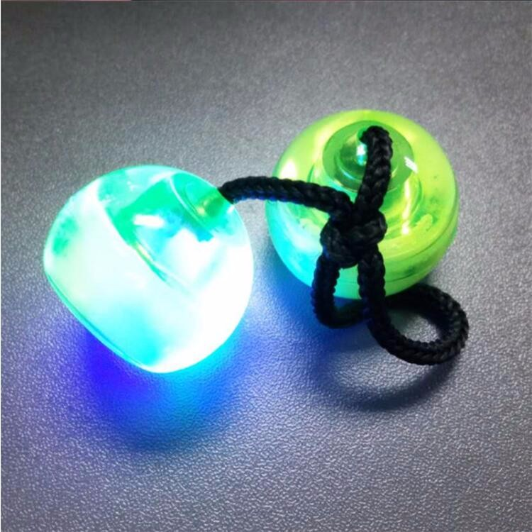 2017 new design LED finger ball with high quality relieve stress finger ball yoyo toys