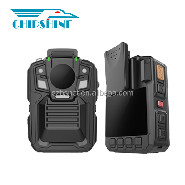 Full HD 1080P motion detecting police body action camera with remote control