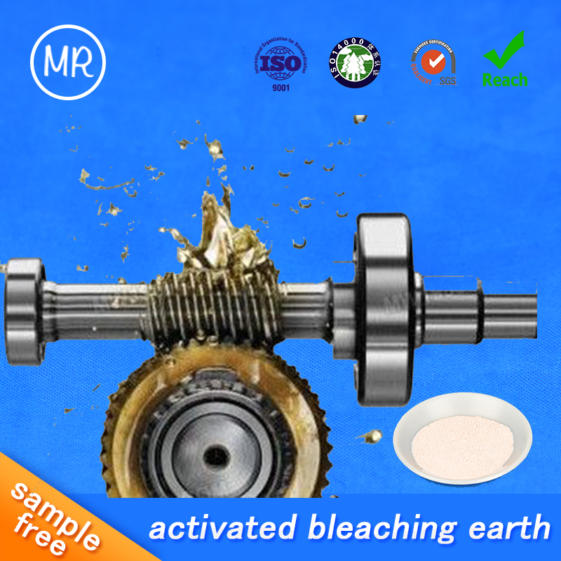 tonsil grage bleaching earth acid bentonite clay powder for industrial oil / wasted oil/used oil