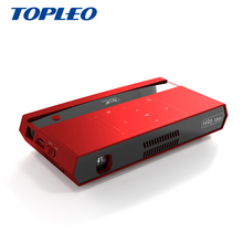 Topleo High grade H96 Max voice control Smart 8 Core DLP hd-in 4K 2GB 16GB home mini dlp mobile <strong>projector</strong>
