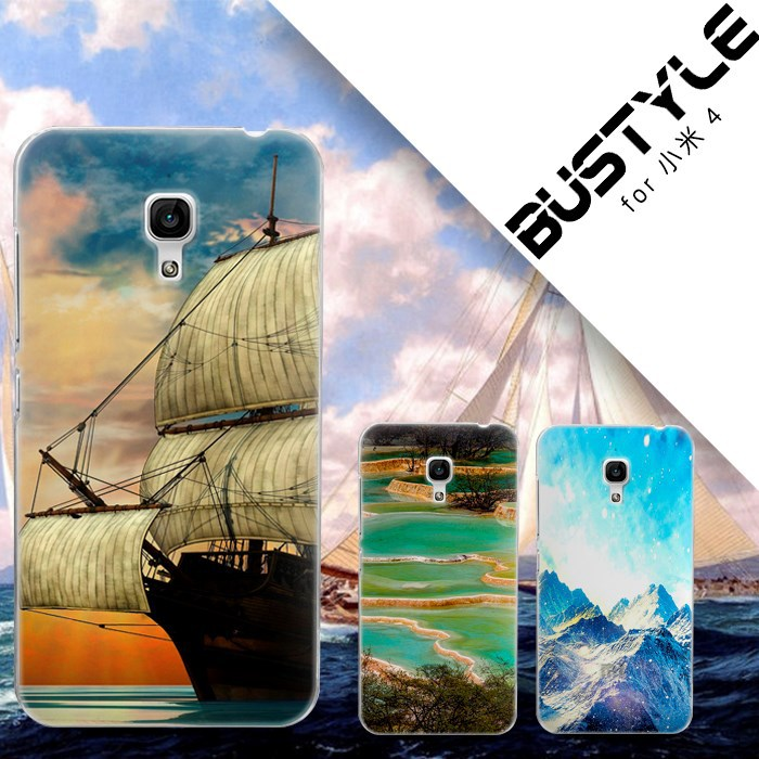 Hard case For XIAOMI 4 3 2 note beautful painting custom design case high quality!
