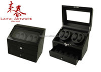 PUT SEVEN WATCH WITH ONE DRAWER LUXURY WOODEN WATCH WINDER
