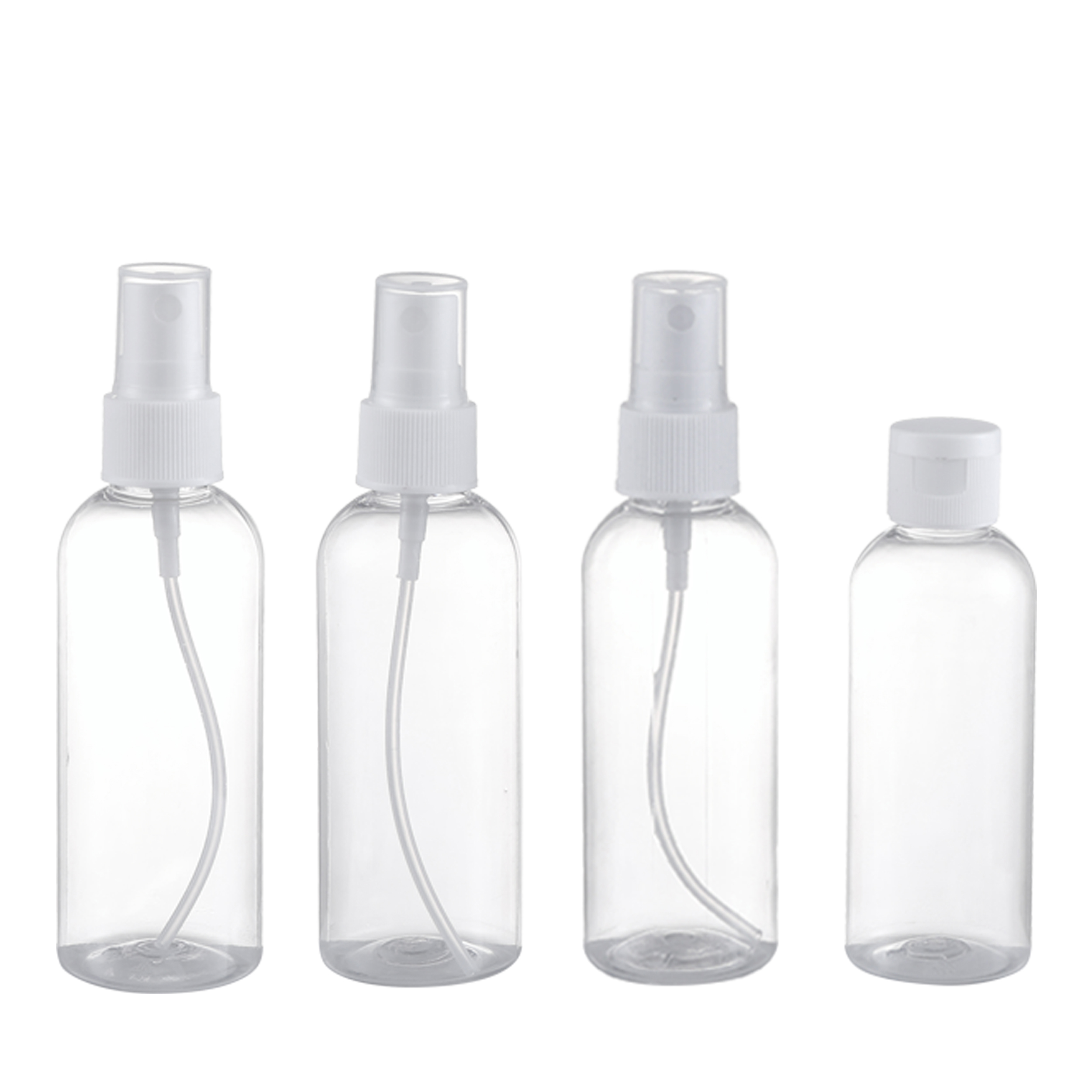 4Pcs travel pet bottle kit with bag