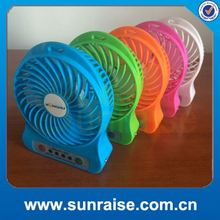 2016 new products low price rechargable table fan