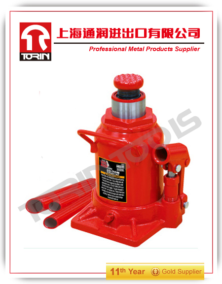 High Quality 12T 20T 25T Auto Hydraulic Bottle Jack