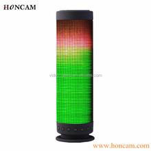 HC-S2918 colorful metal bluetooth door speaker with powerful 4100mAh battery