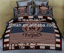 3D Series High Quality 100% Cotton Reactive Printed luxury New Arrival Bedsheet Set Discount