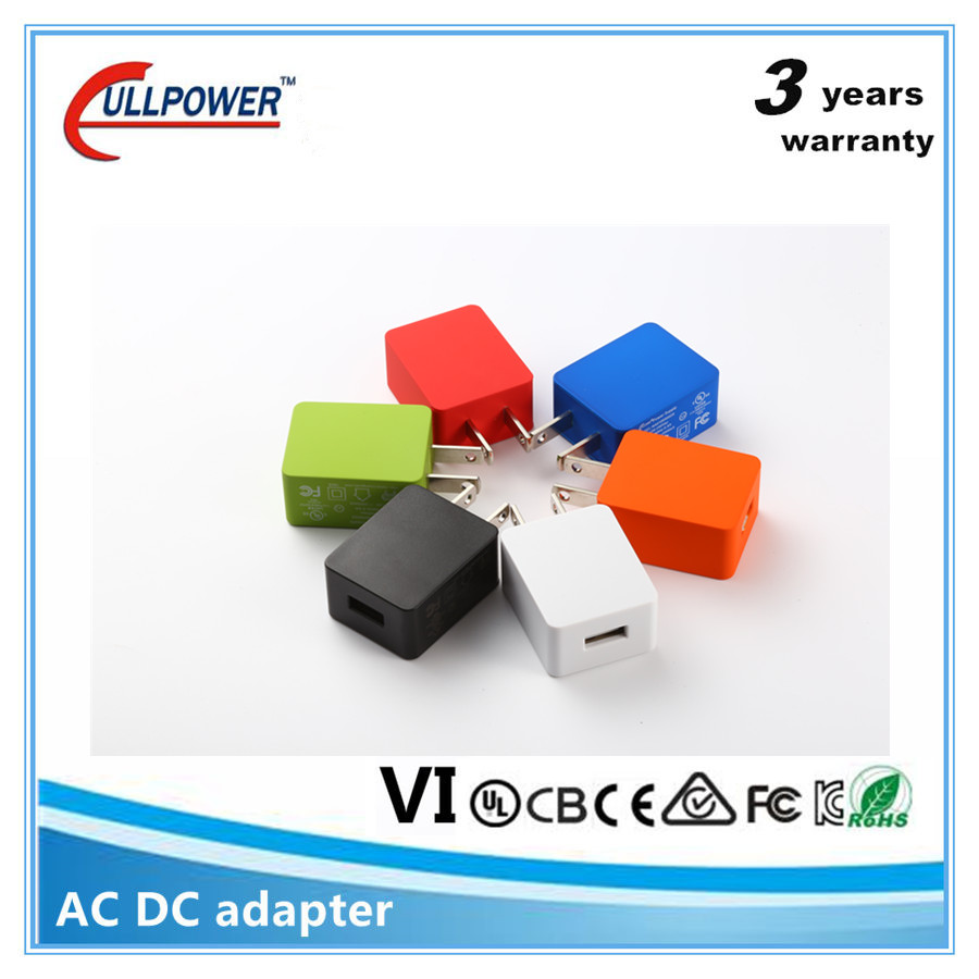 Free samples wholesale Folding us plug 5v 1a 2a 2.4a micro usb wall charger