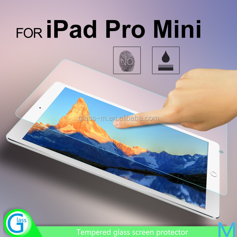 Mobile Phone 2016 New Arrival 9H Tempered Glass Screen Protector for iPad Pro 9.7inch