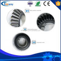 T-27 Spline Shaft Bevel Agriculture Gearbox gears for farm rotary cutter slasher