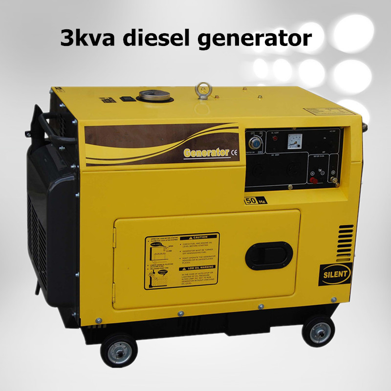 Promotion price with 3kva diesel generator