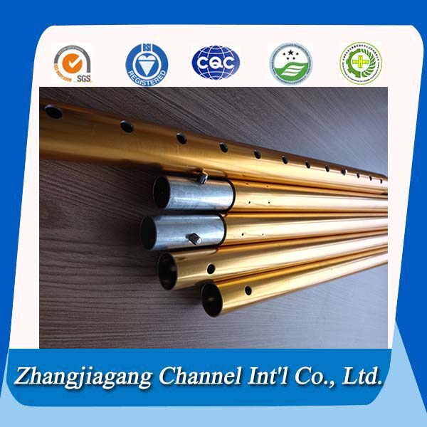 extendable aluminium tent pole in hot sale