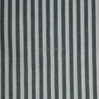 yarn dyed black and white stripe fabric