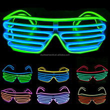 LED light glasses flashing Shutter party el wire glasses