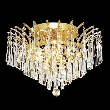 Cheap Factory Price Crown Shape Crystal Lights Ceiling Lamp Led Grow Lighting