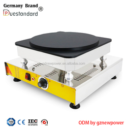 new design electric hot sale snack machine crepe fabric maker crepe machine automatic crepe machine with CE