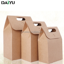 recycled brown craft paper bag, packaging bag, food paper bag manufacturer
