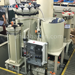 ShuoBao industrial chemical filtration machine for metal plating industry
