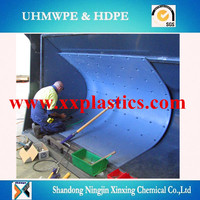high quality pe board anti wear uhmwpe truck liners,coal liner sheet hdpe plastic panel supplier,chute inner liner