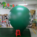 Green Advertising Helium Floating Custom PVC  Inflatable Taper Cone Model PVC Balloon