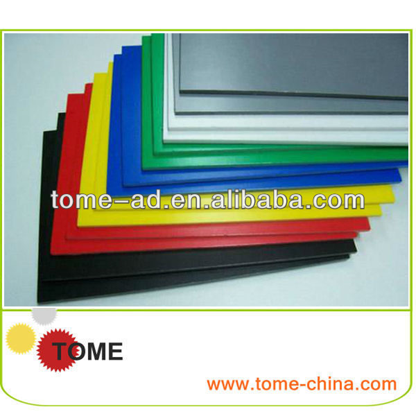 hard frosted pvc abs sheet black