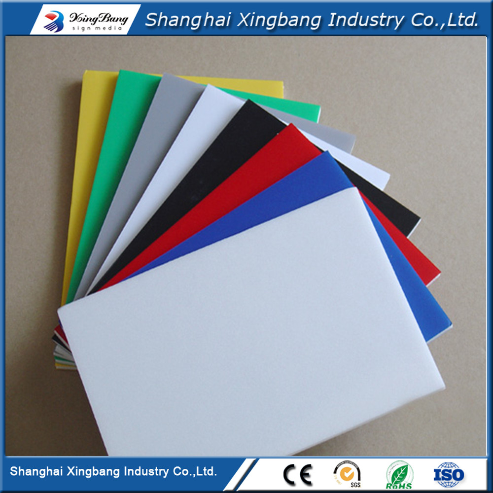 4x8 waterproof 1/8 pvc sheets 3mm pvc foam board