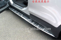 OEM ABS plastic aluminium alloy replacement for Hyundai ix45 2013 Santa Fe auto tuning part running board side step bar body kit