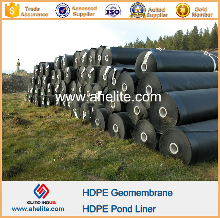 High Density Polyethylene HDPE geomembrane for Fish pond Liner