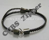 Fashion No.5 High Quality Plastic Zipper Bracelet