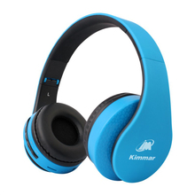 2017 Newly Released Kimmar BTK-002 Bluetooth and Wired Headphones Bluetooth V4.0 Headset For Smartphones PC Support Built-in TF